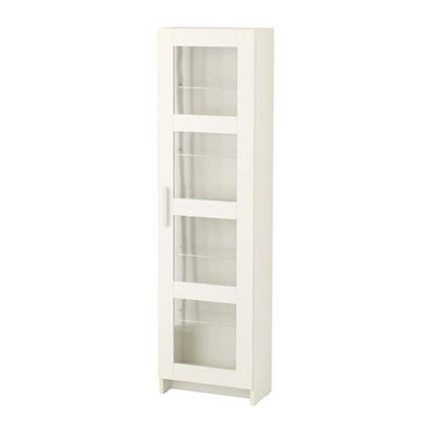 BRIMNES Armoire porte vitrée   blanc   IKEA