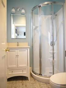 Shower Stall Designs Small Bathrooms Tiny Bath