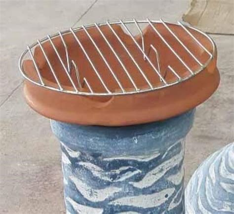 chimenea with grill chimenea clay cooking pot with grill savvysurf co uk