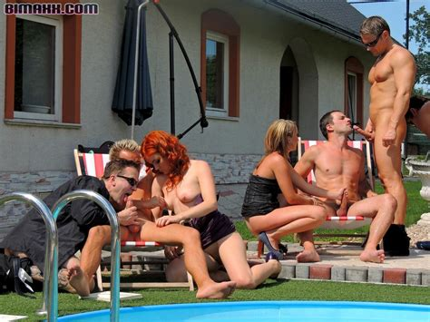 bisexual orgy outdoors from bimaxx   pichunter