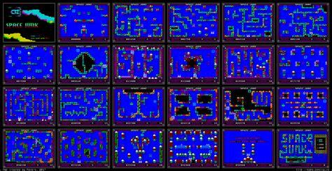 space junk map zx spectrum space junk mapa