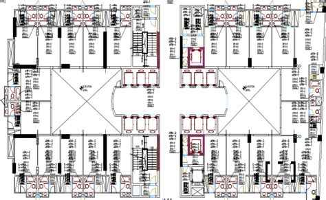 hotel layout drawing 5 star hotel drawing dwg file