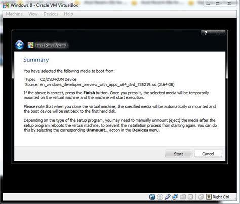 Cd Anda In Medio By Club the windows instal windows 8 pada virtualbox