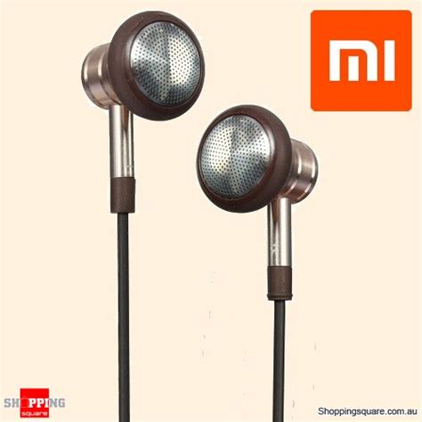 Headset Xiaomi Piston 1 xiaomi 1 more in ear metal piston 3 5mm headset earphones