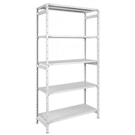 scaffale metallo scaffale metallo arredokit lb1 cm 106 x 42 180 5 piani