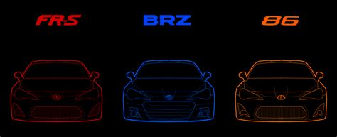 subaru brz vs scion frs vs toyota gt86 fr s brz 86 by ocraque on deviantart