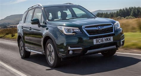 Subaru Specials by Subaru Announces Special Edition Forester For The Uk