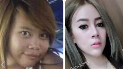 film thailand wanita jelek jadi cantik wanita thailand ini bagikan foto perubahan dirinya dari