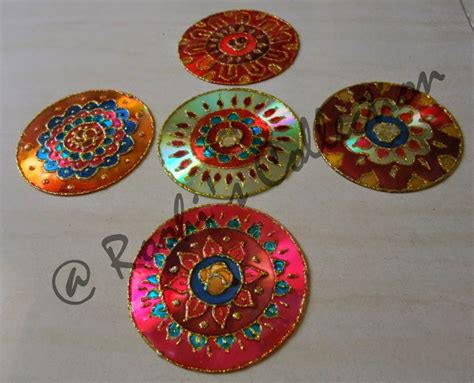 pattern making vcc roohi s collections 10 ways of making diyas and rangoli