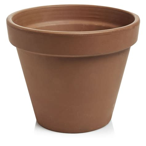 terracotta pots wilko terracotta plant pot 23cm at wilko com