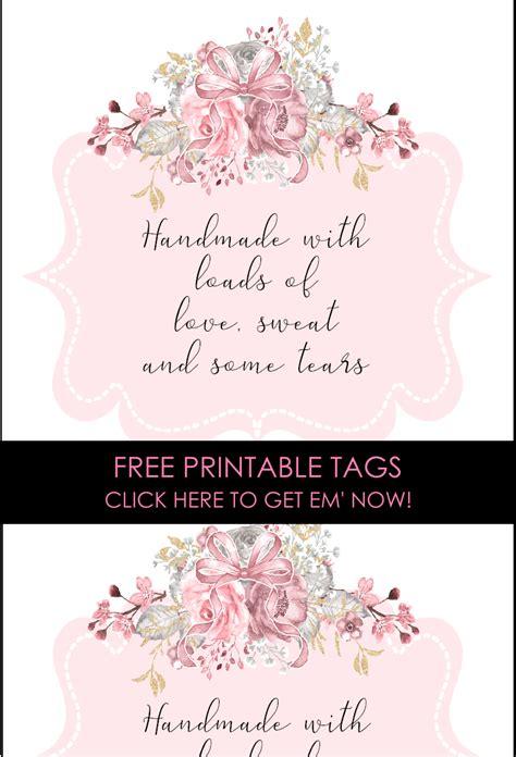 cutest  printable handmade labels sew  stuff