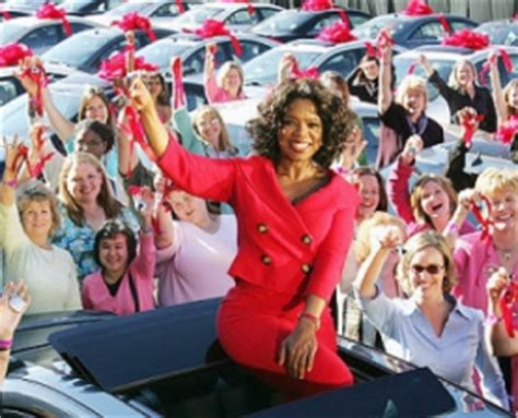 Oprah Car Giveaway - on september 13 streamingoldies