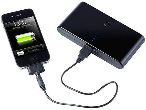 vr bank handy aufladen revolt powerbank mit 12 000 mah f 252 r iphone handy