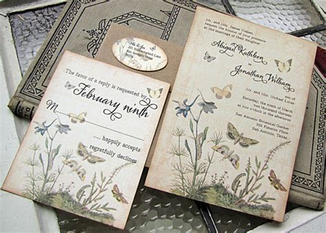 vintage wedding invitations 21 fabulous vintage wedding invitations