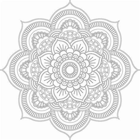 Tattoo Mandala Zum Ausmalen   die besten 25 mandala vorlagen ideen auf pinterest