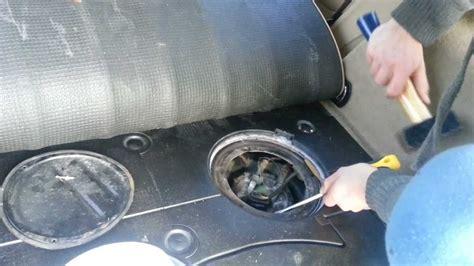 tankgeber montage  fuelsaver bei einem vw passat combi youtube