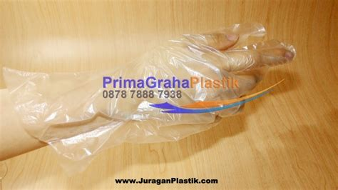 Sarung Tangan Disposable sarung tangan plastik makanan home