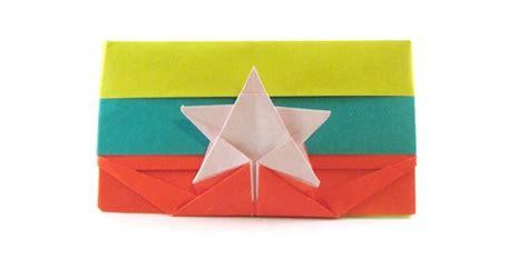 Gilad Origami - flag of myanmar gilad aharoni gilad s origami page