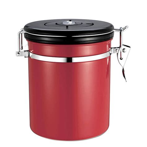kitchen storage canister 1l coffee tea sugar storage tanks sealed cans 18 8 stainless steel canisters kitchen storage