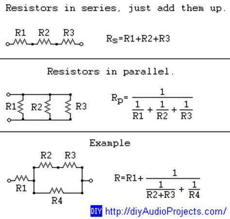 resistors in parallel rule grade 11 physics december 2014