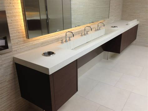 commercial bathroom vanity stockton concrete sinks by customcretewerks will stun you