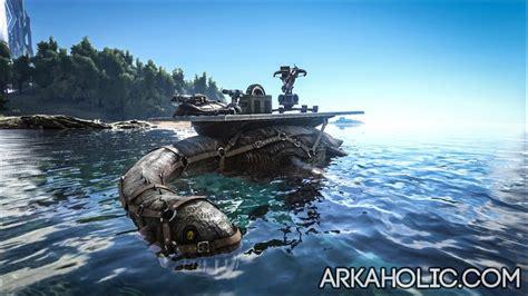 ark armored boat plesiosaur dino dossier guide ark survival evolved