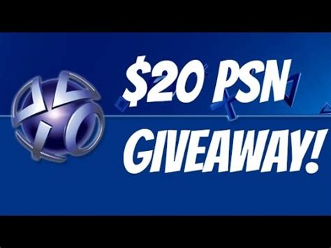 Psn Card Giveaway - open free 20 psn card giveaway may 2015 youtube