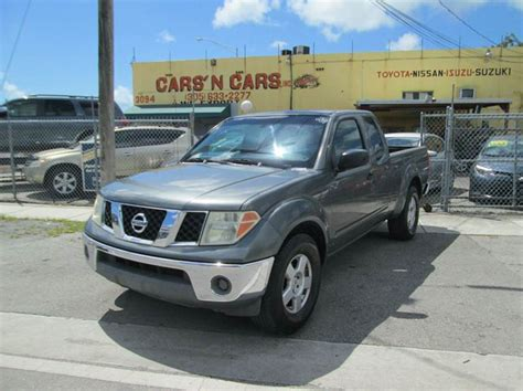 used nissan frontier miami nissan frontier for sale in miami fl carsforsale