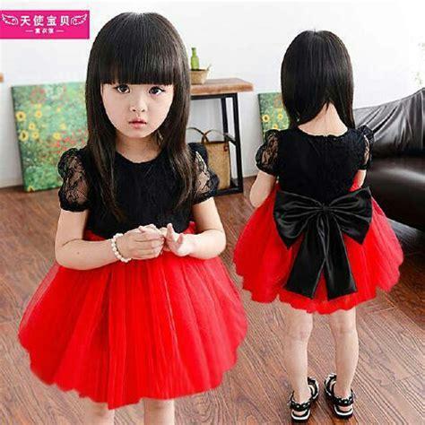 Dress Cantik Untuk Anak baju dress pesta anak perempuan cantik lucu murah