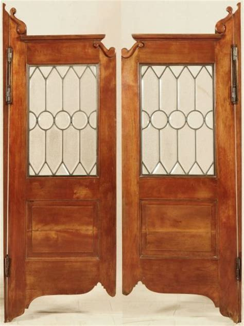 Antique Saloon Doors Antique Furniture Glass Saloon Doors
