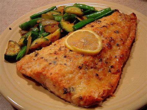 printable salmon recipes easy lemon parmesan baked salmon recipe food com