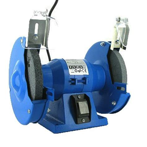 electric bench grinder 150mm electric bench grinder 230v 150w motor steel twin