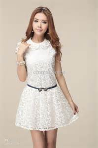 long short white lace summer dress 2017