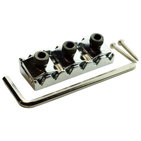 Locking Nut Gitar Floydrose Crome 6 Strings Murah floyd locking nut 42mm for 6 string electric guitars ebay