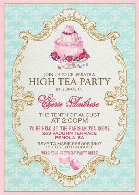 top 17 ideas about kitchen tea party on pinterest in afternoon tea invitation template orderecigsjuice info