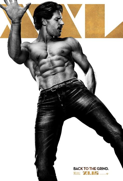 joe manganiello is big dick fat movie guy magic mike xxl trailer and character posters