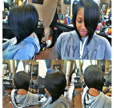 quick weave bob deep side part the best quick weave bob with side swoop hairspirations