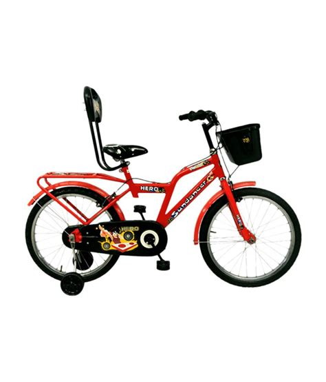 hero on a bicycle hero sundancer 20t bicycle red black buy online at best price on snapdeal
