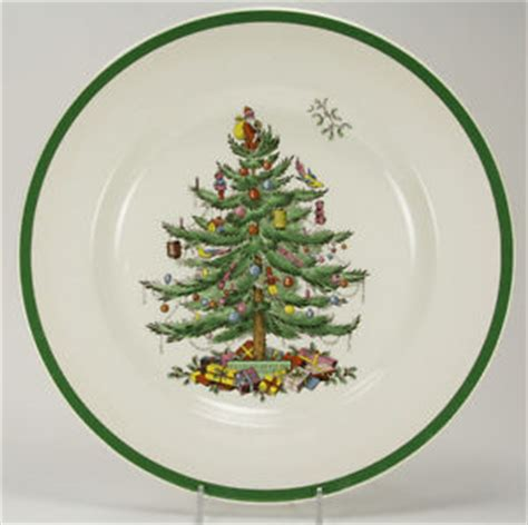 spode christmas tree bone china made in england 10 3 4 plate