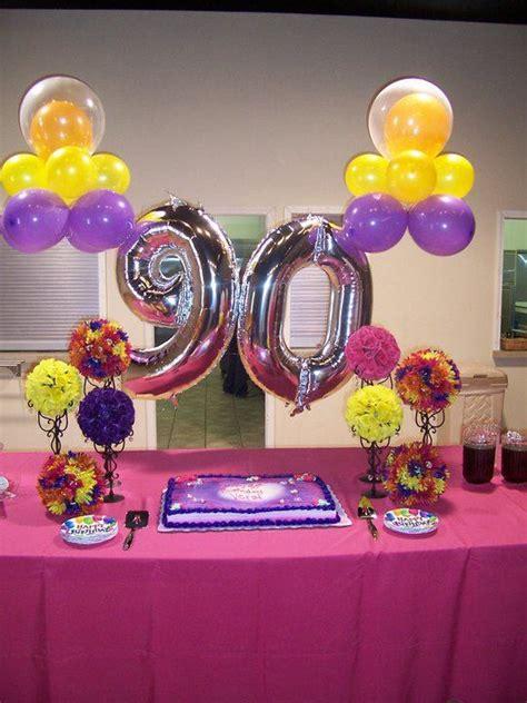 90th birthday ideas decorations efficient braesd