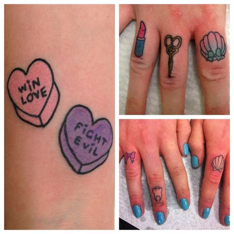 cute girly tattoo designs girly finger tattoos 171 inked inspiration a