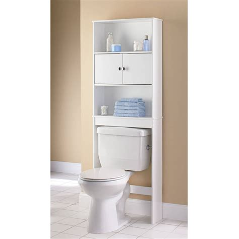 Space Saver Bathroom Storage 3 Shelf Bathroom Organizer The Toilet Storage Space Saver Towel Rack White Ebay