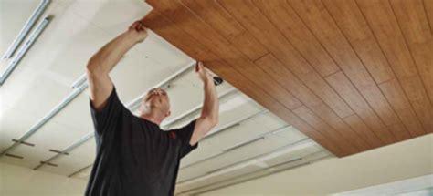 install plank ceiling doityourselfcom