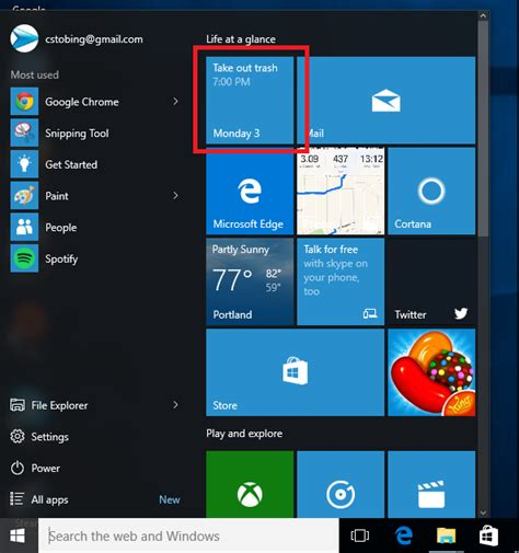 how to use your calendar in the windows 10 calendar app