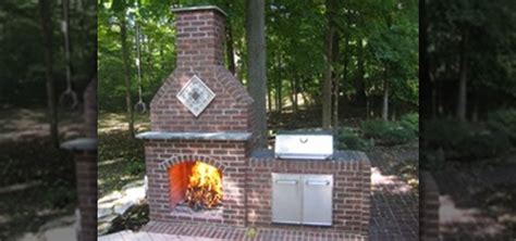 how to build an outdoor brick fireplace 171 construction