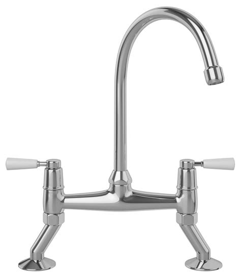 franke bridge chrome kitchen sink mixer tap with lever