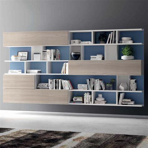 librerie mobili moderni mercantini soggiorni moderni librerie nestos contemporary