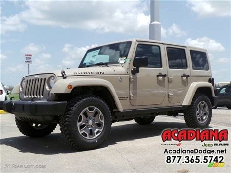 jeep sand color 2016 mojave sand jeep wrangler unlimited rubicon 4x4