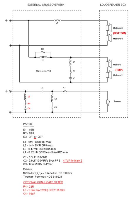 crossover inductor design inductor crossover chart 28 images 60hz inductor exles table inductor crossover calculator