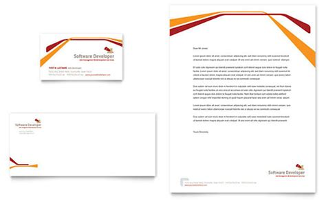 Computer Engineering Letterhead Templates Word Publisher Microsoft Office Stationery Templates